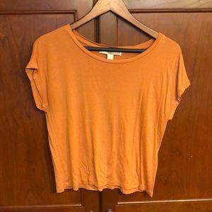 Forever 21 XS burnt orange top